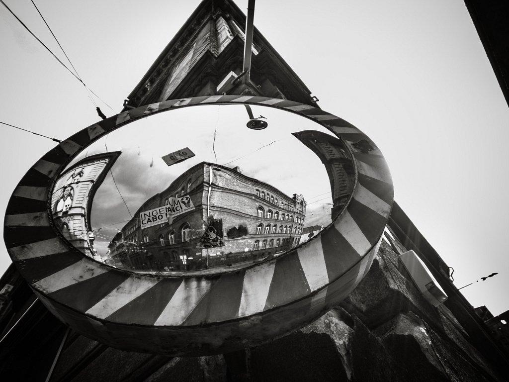 Distorted corner - Budapest 2017