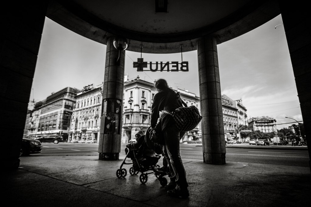 The natural frame. Budapest - 2017.